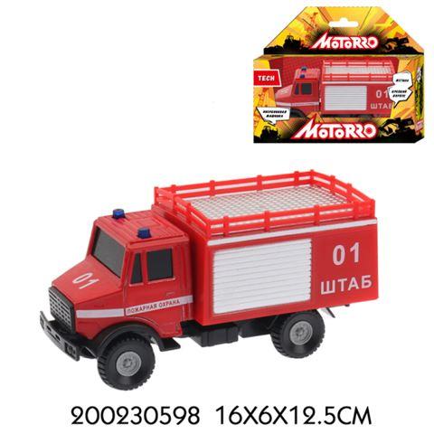 200230598 Машинка металл., 1:43, Motorro, Пожарная охрана - фото товара
